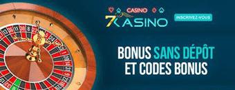 Roulette sur le casino 7 kasino